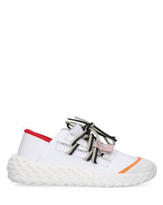 Low-Top Sneakers URCHIN calfskin white