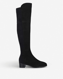 Tia suede over-the-knee boots