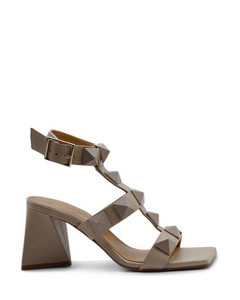 white 60 Western mock croc leather ankle boots