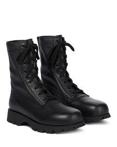 皮革战地靴