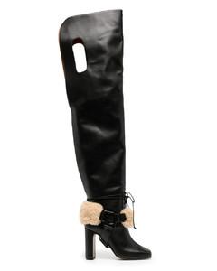 Beige lace Lauren sneakers
