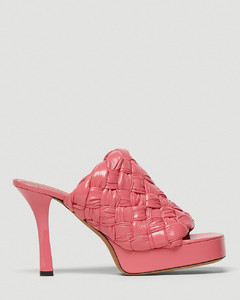 BV Bold Woven Heels in Pink