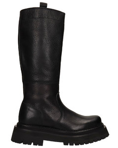 Alexandre Mattiussi Low Heels Boots In Black Leather