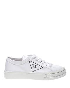 Gabardine sneakers