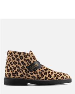 Women's Suede 2 Desert Boots - Leopard Print