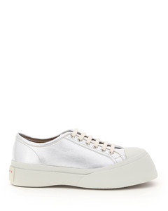 PABLO LAMINATED LEATHER SNEAKERS