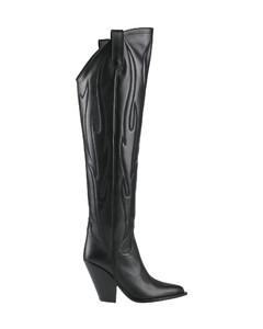 Minori 100 croc-embossed leather boots