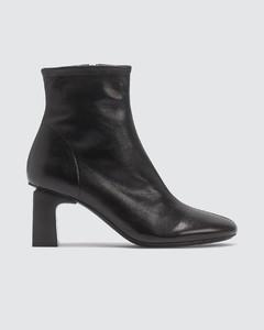 Vasi Leather Black Boots
