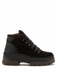 Aure shearling-lined suede hiking boots
