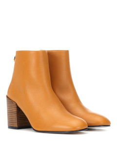 Coban leather ankle boots