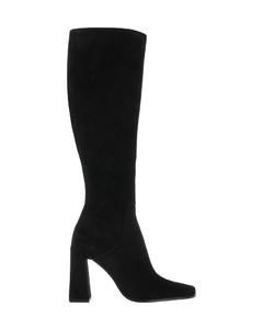 Women's Marta Leather Block Heeled Sandals - Black