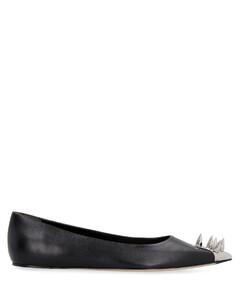 Air transparent touch-strap sandals