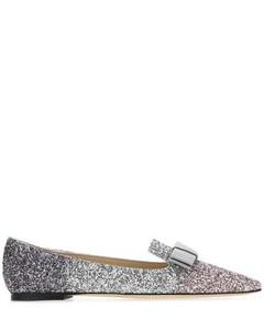 Gala Glittered Ballerina Flats