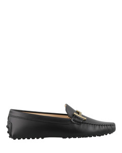 Gommino smooth leather loafers
