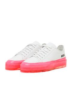 Neon floating sneakers