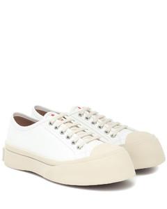 Pablo皮革运动鞋