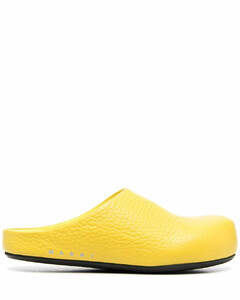 Eco lace-up leather trainers