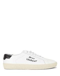 Court Classic Signature Sneakers in White