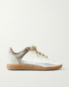 Replica Pvc And Suede Sneakers