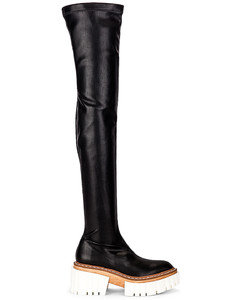 Emilie High Boots in Black