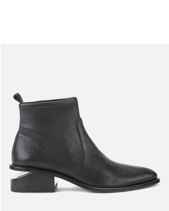 Women's Kori Stretch Flat Ankle Boots - Black
