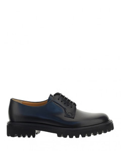Khomobi 90 black leather knee-high boots