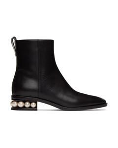 黑色Casati踝靴