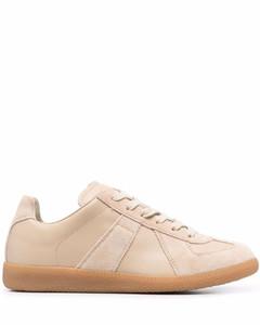 Replica suede sneakers