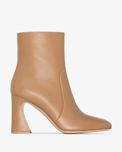 Neutral 85 leather ankle boots