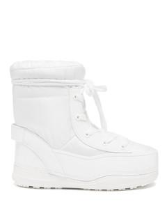 La Plagne shearling-lined snow boots