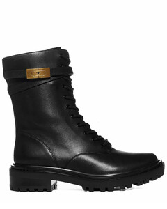 T Hardware Lace-Up Boots
