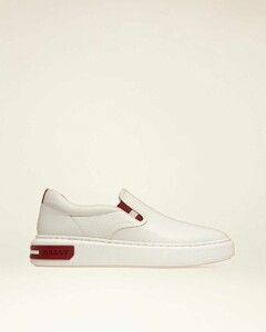 Leather Sneakers In White