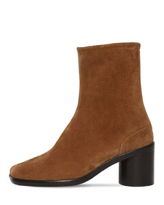 60mm Suede Ankle Boots