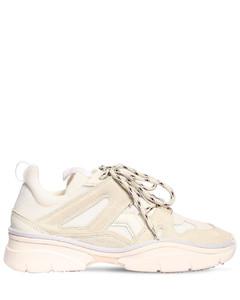 30mm Kindsay Mesh & Suede Sneakers