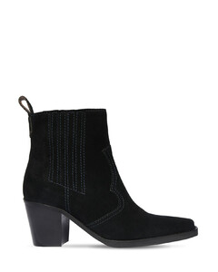 90mm Suede Ankle Boots