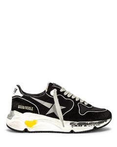 Running Sole Sneaker in Black