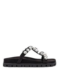 Jewel Slides in Black