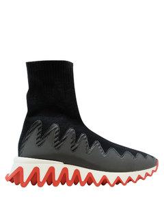 黑色Effie高帮运动鞋