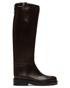 SSENSE发售棕色Riding高筒靴