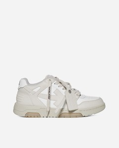 """Out Of Office""""ooo""""leather sneakers"""