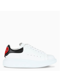 White/black/red Oversize sneakers