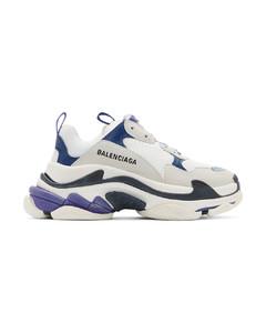 白色Triple S运动鞋