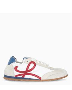 White/blue/red Ballet Runner sneakers