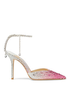Point-toe 70 leather knee-high boots