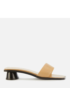 Women's Sonia Leather Mules - Nude