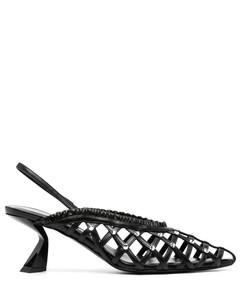 皮革夹趾中筒靴