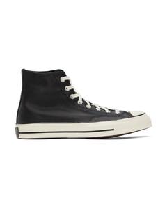 黑色Chuck 70高帮运动鞋