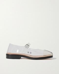 Tabi Split-toe Pvc Ballet Flats