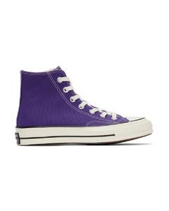 紫色Chuck 70高帮运动鞋