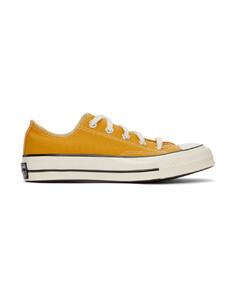 黄色Chuck 70 OX运动鞋